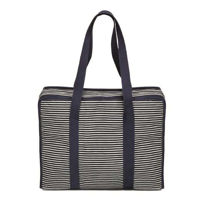 Sac all in one denim & stripes